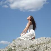 woman in feflection